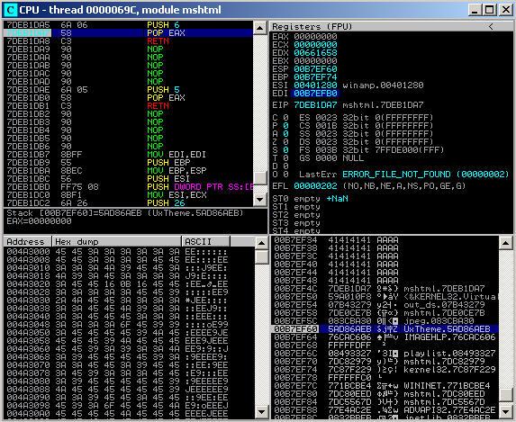rop  return oriented programming  chains    ben simmonds